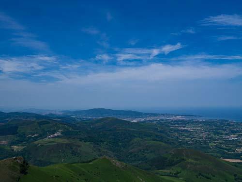 サンセバスチャンの遠景